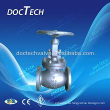 ASTM A216 WCB válvula de globo del acero de molde