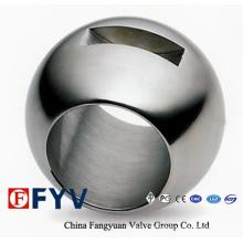 Esfera de peças de válvula de aço inoxidável de alta qualidade