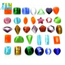 2014 Großhandel AAA Qualität sortierte Formen Glas lose Katzenauge Perlen