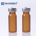 1.5ml 11mm Crimp autosampler amber glass hplc vial