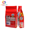 FAD Aprovado Zipper Gusseted Plastic Para Pet Food