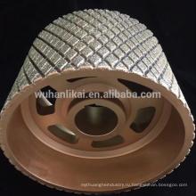 Китай производство алмазные шлифовальные колеса / диска для тормозной обкладки