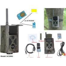 Câmera sem fio HC500G WCDMA da fuga do MMS GPRS 3G do controle de 12MP SMS