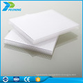 Top quality UV protection 8mm weight of polycarbonate twin wall sheet