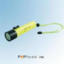120lumens CREE Xr-E Q5 Ipx8 Diving LED Flashlight (POPPAS- F96)