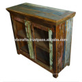Glass Panel Cabinet recycle wood