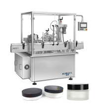 Rotary soft drink oil pouch filling machine high speed rotary cosmetic cream filling machine
