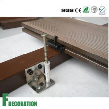 Decking composite en plastique bois WPC imperméable à l'eau de haute qualité