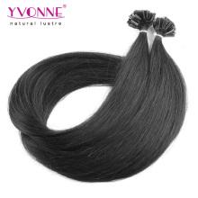 Extensões de cabelo humano de ponta U Prebond