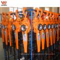 bloco de corrente manual personalizado 9 toneladas com botão de parada de emergência