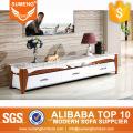 china supplier modernes design marmor top massivholz tv schrank