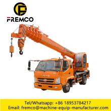 Small Construction 12 Ton Wheel Truck Crane