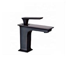 New arrival brass matte black washbasin water mixer tap single handle orb bathroom faucet