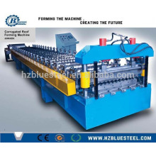 Africa Good Quality Low Price PLC Control Full Automatic Corrugated Glazed Galvanized Steel Roll Forming Machine