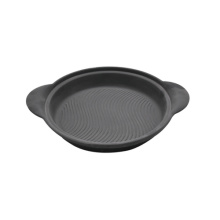 Cast iron portion pan