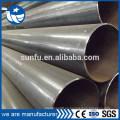 Suministro de fábrica de tubería de agua de acero al carbono soldada
