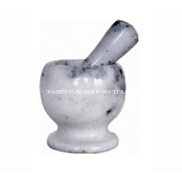 Marble Mortar and Pestle Size 11X10cm