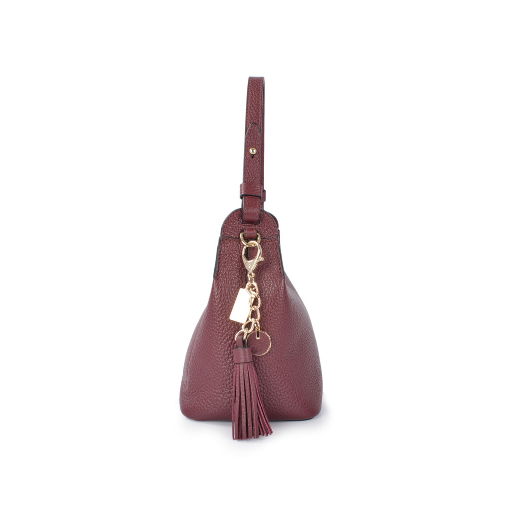 leather HOBO Bags Women Handbag