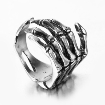 Cheap stainless steel Hand bone rings
