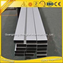 Fábrica de extrusão de alumínio de Foshan Tubo de alumínio anodizado