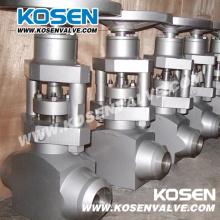 Hochdruck-Kraftwerk-Kugelventil (J61Y)