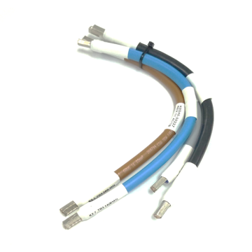 6AWG cable with wire ferrule connector