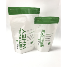 Plastic Protein Powder Stand Up Packaging Bag