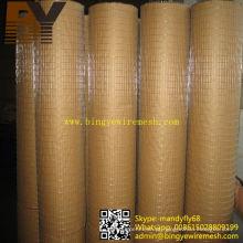 Malha de arame soldada galvanizada de alta qualidade