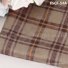 Print and Golden-Plating  Suede Fabric Escf-54A