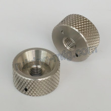 Precision CNC Turning Machining Stainless Steel Locking Collar with Knurling