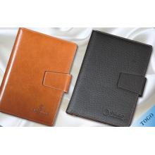Étui pour ordinateur portable en cuir / couverture pour ordinateur portable en cuir / cahiers personnalisés
