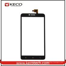 """5.5 """"pulgadas de teléfono móvil de pantalla táctil externa digitalizador de panel de cristal para Lenovo A805e A768T Negro"""