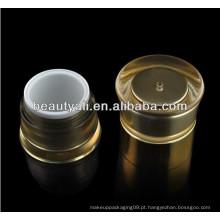20g 50g rodada de cintura dupla embalagem Liner Jar Cosméticos