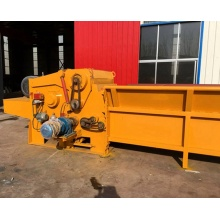 High efficiency miscellaneous wood chipper