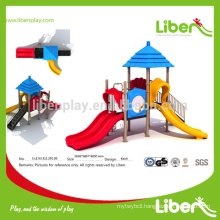 Multiple Slides High Quality Outdoor Playground Equipment Straw House Series