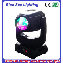 New club light 10r 280w spot beam wash dj lights moving head