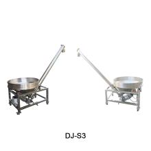 Stainless steel hopper screw conveyor feeder for powder