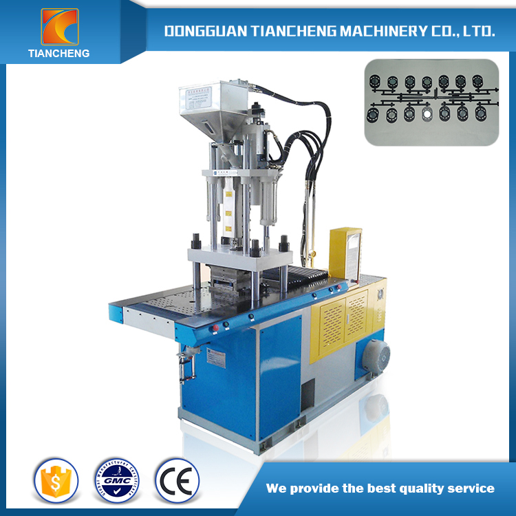 Vertical Double Sliding Board Injection Machine