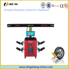 Alineador automático de rueda de coche 3D con objetivo y cámara