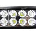 Barra de luz LED para carro Unisun 9-70V 17inch 200W 2 fileiras CREE LED