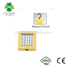 Multifuncional 30 LED 13000-1500MCD levou luz de trabalho portátil