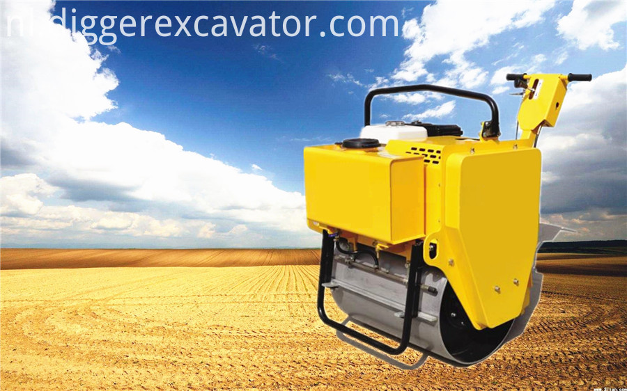 One Ton Road Roller