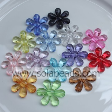 Top Selling 24MM Ring Blossom Flower Beads