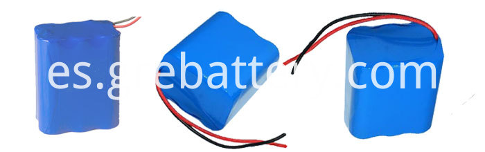 12V 4AH Custom Litium Ion Battery Packs for Digital Audio and Air Pump