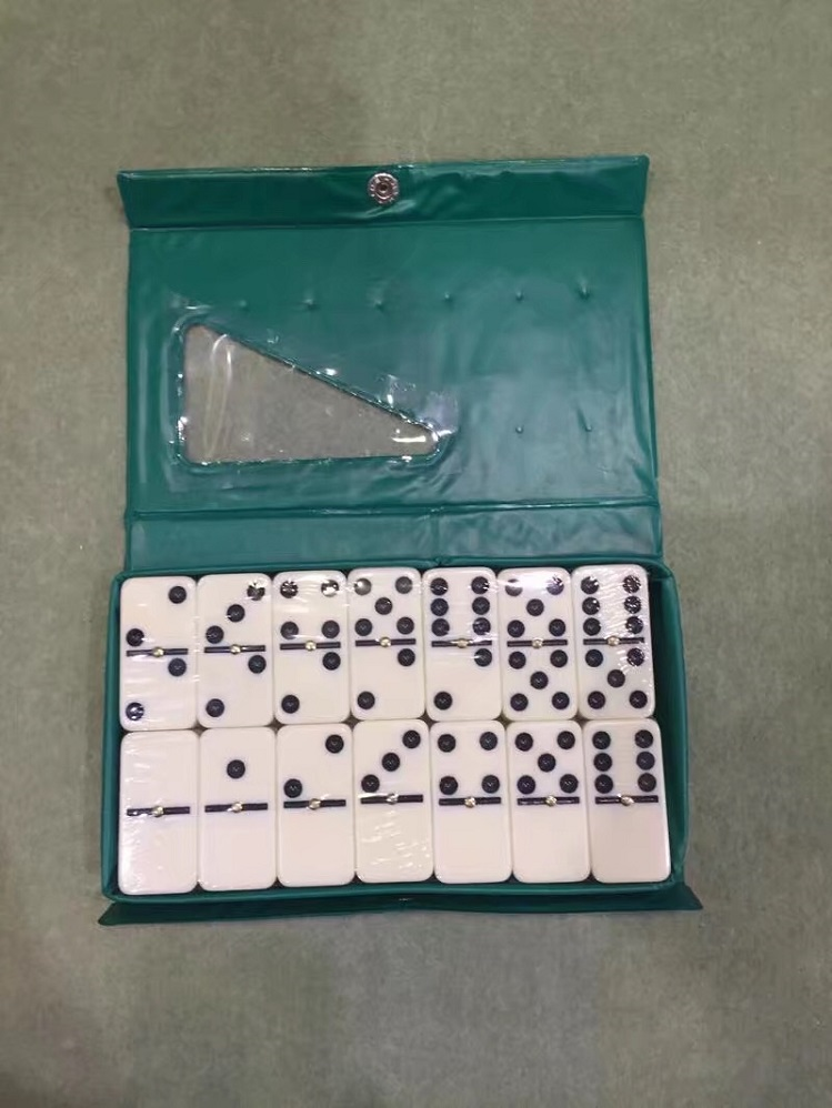 Double 6 Dominoes Pvc Box