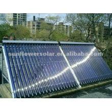 Sistema de calentador de agua solar tubular sin presión