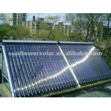 Non pressure Tubular Solar Water Heater System
