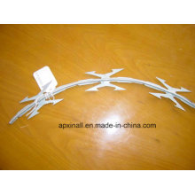 2016 Hot Galvanized Razor Wire avec Cbt-65 (XA-GW012)