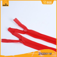Großhandel 3 # unsichtbarer Reißverschluss mit Spitze Tape ZN20011
