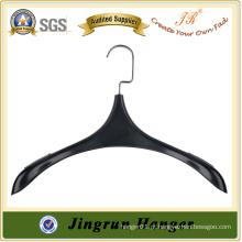 Black Plastic Clothes Hanger Alibaba Jacket Hanger em plástico